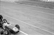 Formula 1 - #9 Lotus 18 - Climax (Jim Clark) in the pits