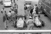 Formula 1 - CentroSud team - #16 Cooper T51 - Climax (Gino Munaron) and #17 Cooper T51 - Maserati (Lorenzo Bandini)