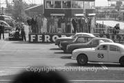 Saloon Cars grid - #83 Jaguar 3781cc (GF Williams)