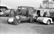 #127 Cooper Climax XI Formula 2 1474cc - KY Twisk