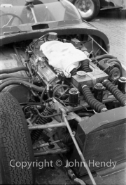 #136 Lister Corvette 4930cc, J Ewer - the Corvette engine