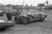 #136 Lister Corvette 4930cc, J Ewer