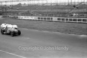 #102 Frazer-Nash Le Mans Bristol 1971cc (EC Booth) and #103 1097cc Lotus XI (R Lyon)