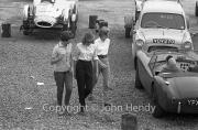 Ladies in the paddock