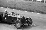 #119 Aston Martin Le Mans 1495cc, WB Fowler
