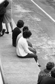 Ladies on the pit wall