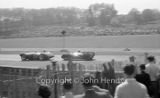 #50 Connaught 150cc (Les Leston, Peter Bell Racing) and #30 Works Cooper Coventry Climax 1100cc (Ivor Bueb)