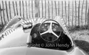 Cockpit of Works Aston Martin DB3S