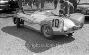 #10 Lotus Mk IX Climax, 1097cc. P Lumsden. The car won the Brooklands Trophy (BARC) in 1956, then sold to Chris Barker.