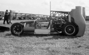 #2 Cooper Climax 1097cc, with the body shell off. Panda Racing Team, driven by DR Barthel.