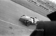 From the pits balcony - #68 1929 Riley