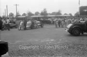 #7 1930 Bentley, 7982cc in the paddock