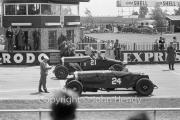 Grid for the Scratch Race - #21 1923 Bentley, #24 1925 Bentley