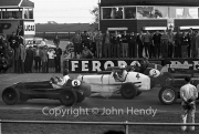Start of the 5 lap Allcomers' Scratch Race - #6 1936 ERA, #4 1936 ERA, #3 1936 ERA