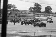 Grid for the Scratch Race - #118 1930 Alvis, #119 1924 Bentley, #126 1927 Vauxhall