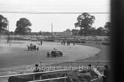#26 1930 Frazer Nash rounding Woodcote corner