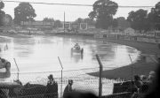 Car racing in the wet