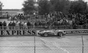 F1 car on the grid