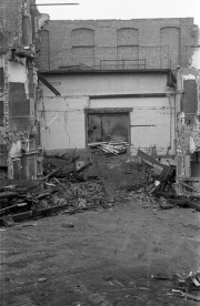 Demolition of New Theatre