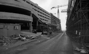 Bus station and Grosvenor Centre under construction