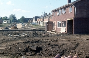 Landcross Drive and Lynmouth Avenue under construction