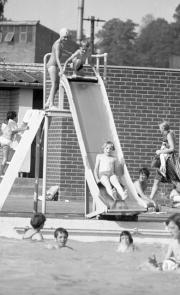 David on the slide