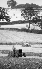 Ploughing at Tractor Rally