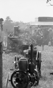 Steam engines at Tractor Rally