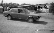 Car at Banbury Lane Crossing
