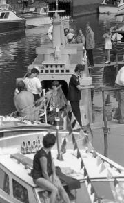 Battleship narrowboat