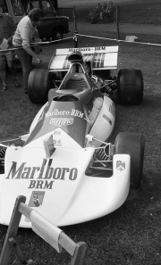 Marlboro-BRM racing car