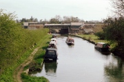 Grand Union Canal and bridge works