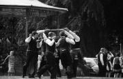 Traditional sword dance