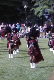 Highland pipe band