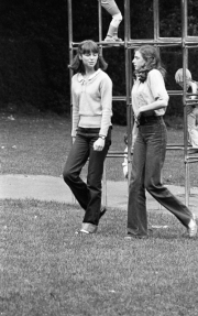 Girls in the playground