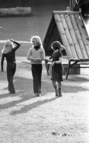 Girls in the playground