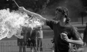 Fire eaters