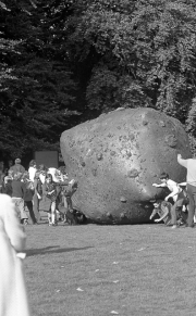 Giant inflatable rocks