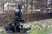Modern sculpture by the Stedelijk