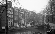 Classic Amsterdam townhouses