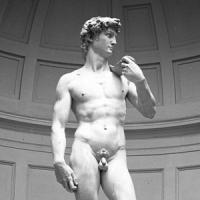 Michelangelos' David