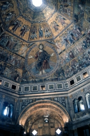 Interior of Baptistry