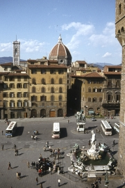 Piazza Della Signoria, from The Loggia