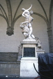 The Loggia di Lanza - Rape of the Sabines, Giambologna