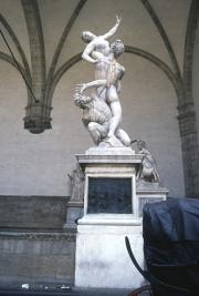 The Loggia di Lanza - Rape of the Sabines, Giambologna