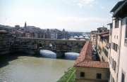 Ponte Vecchio from The Uffizi (with the corridor)
