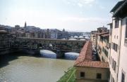 Ponte Vecchio from The Uffizi (with the corridor)