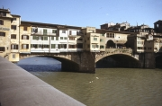 Ponte Vecchio, downstream side