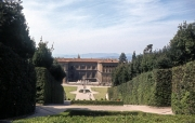 Pitti Palace from the Boboli Gardens