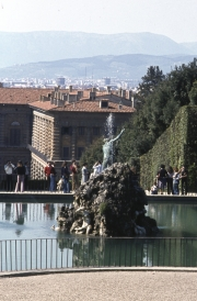 Neptune Fountain, Boboli Gardens, Pitti Palace
